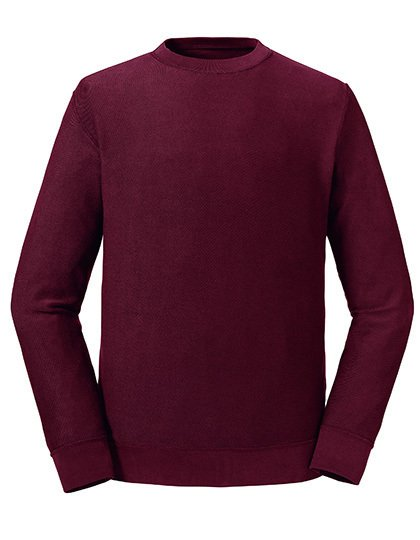 Pure Organic Reservible Sweat Burgundy
