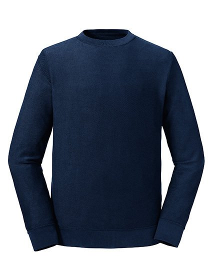 Pure Organic Reservible Sweat Navy