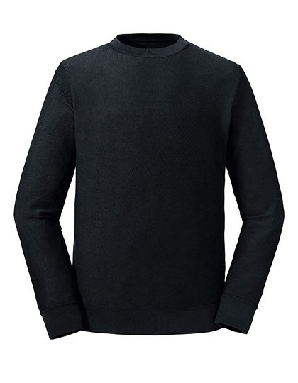 Pure Organic Reservible Sweat Schwarz