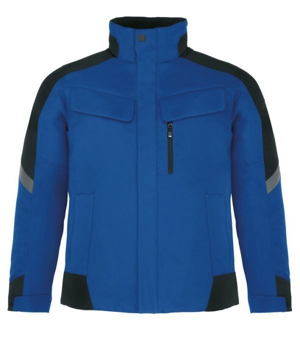 Arbeitsjacke Winter Blau