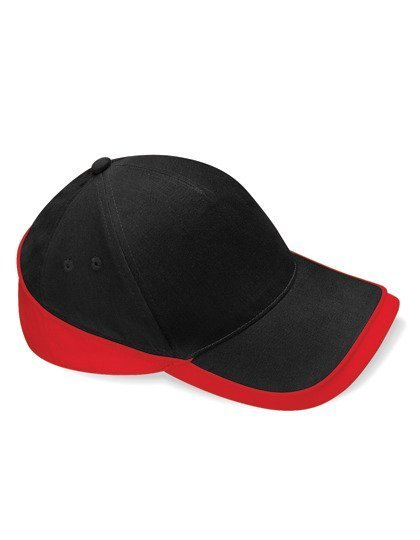 Competition Cap Schwarz-Rot